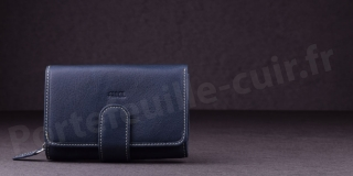 Porte-monnaie Femme Fancil SA904 - Bleu