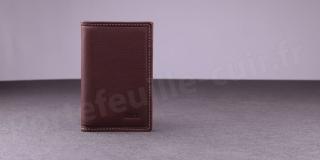 Porte-cartes Fancil Elegance SA907 Marron