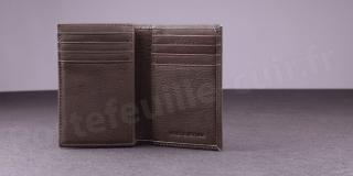 Porte-cartes Fancil Elegance SA907 Taupe