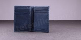 Porte-cartes Fancil Elegance SA907 Bleu