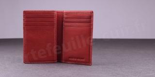Porte-cartes Fancil Elegance SA907 Rouge