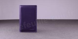 Porte-cartes Fancil Elegance SA907 Violet