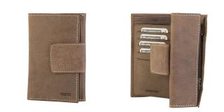 Portefeuille Porte-monnaie en cuir RUBRE® - 50132501