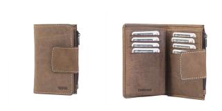 Portefeuille Porte-monnaie en cuir RUBRE® - 50032500
