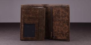 Portefeuille Lee Cooper cuir 3 Volets LC-667914