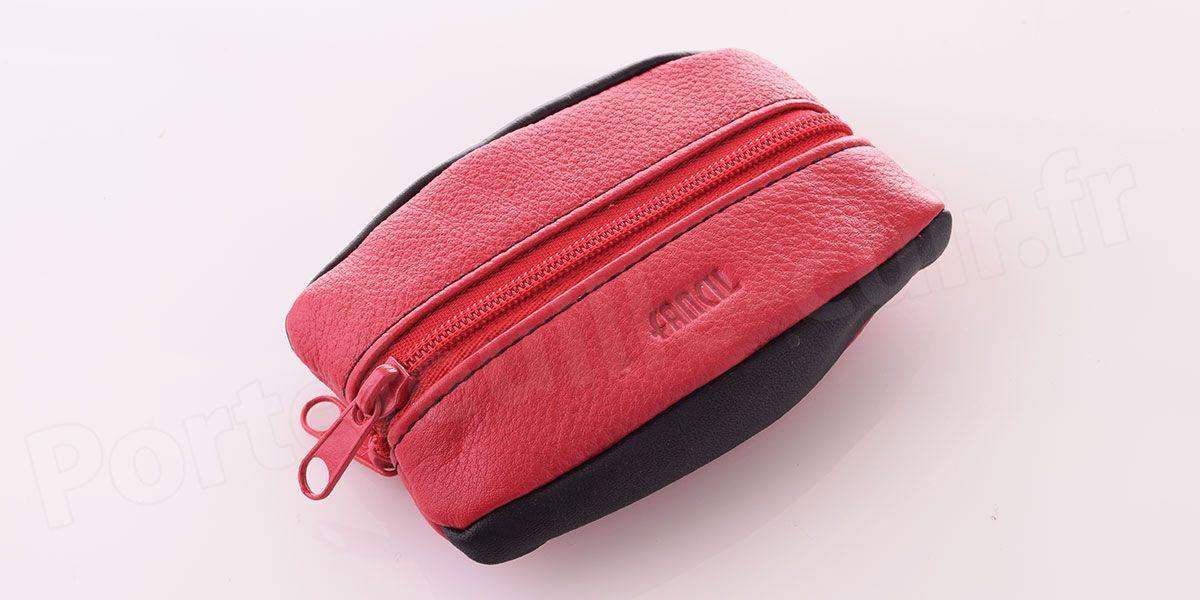 Porte monnaie grain de caf fancil fd3754 rouge noir portefeuille - Porte monnaie grain de cafe ...